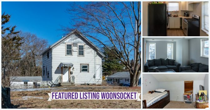 Single Family Home For Sale in Woonsocket