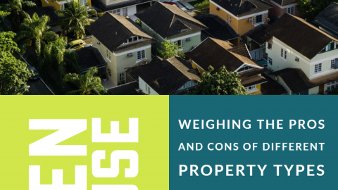 Weighing the pros and cons of different property types