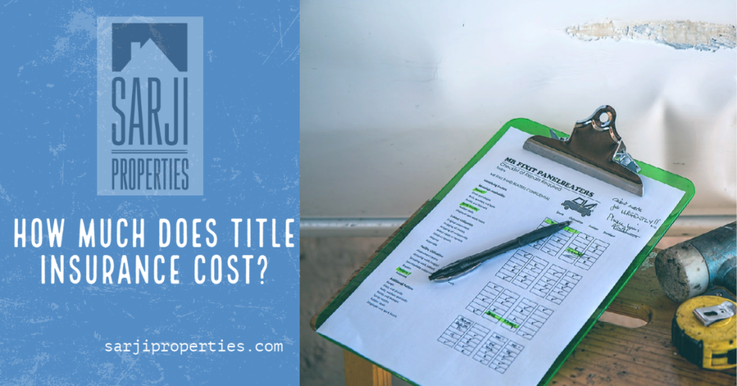 How much does title insurance cost?
