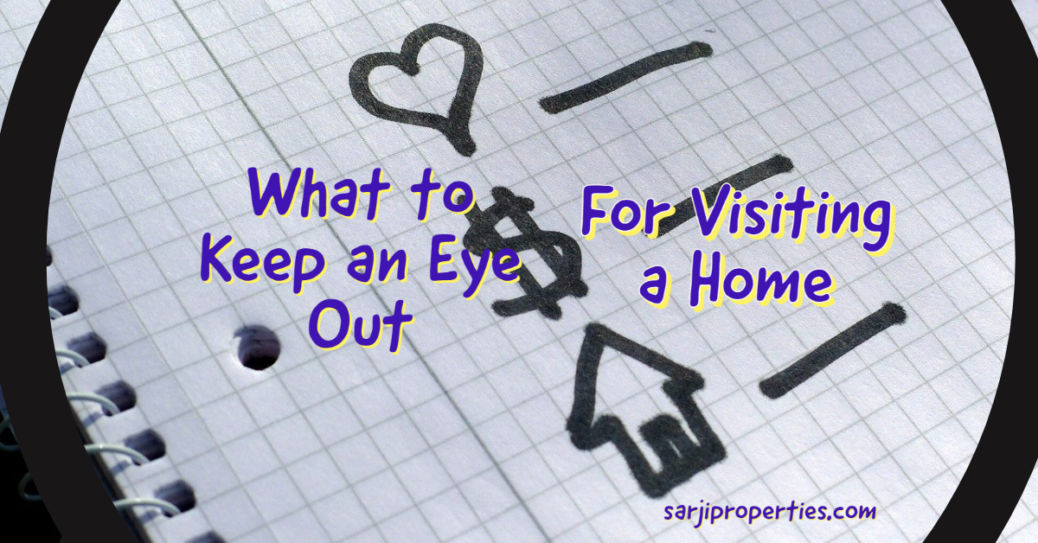 What to Look for when Viewing a Home